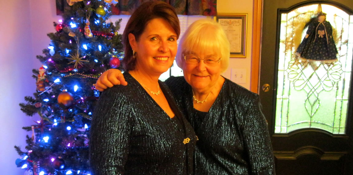 Laurel Coote and Ruth Krusic - December 2013