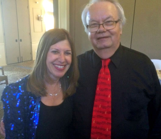 The Festival Singers Pianist Carol Roman and Artistic Director Gary Toops