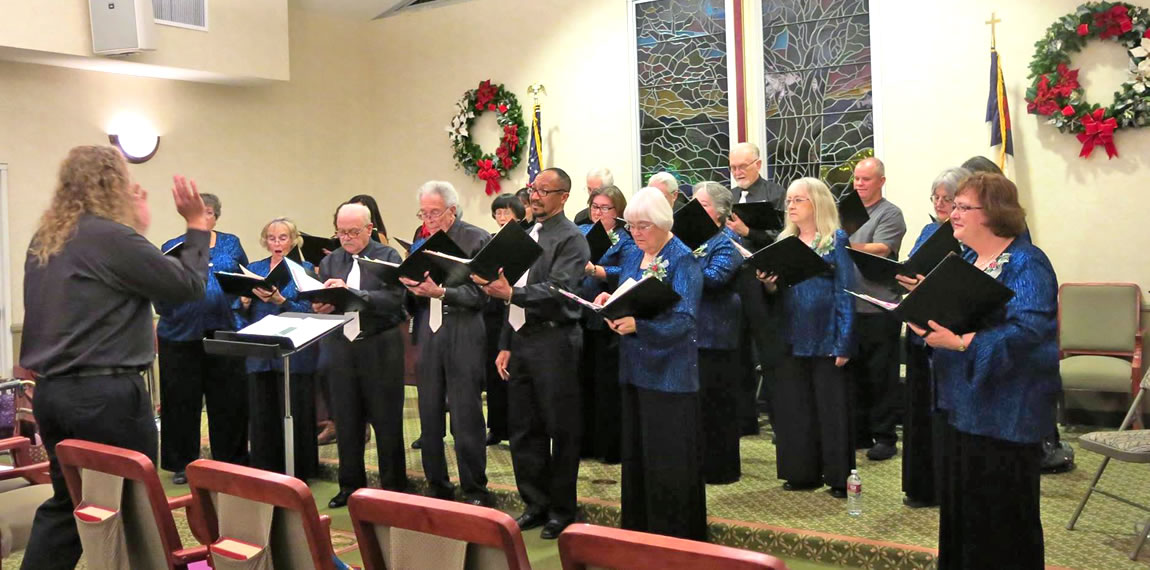 Royal Oak Manor - Guest Conductor Jerry McMillan - December 2014