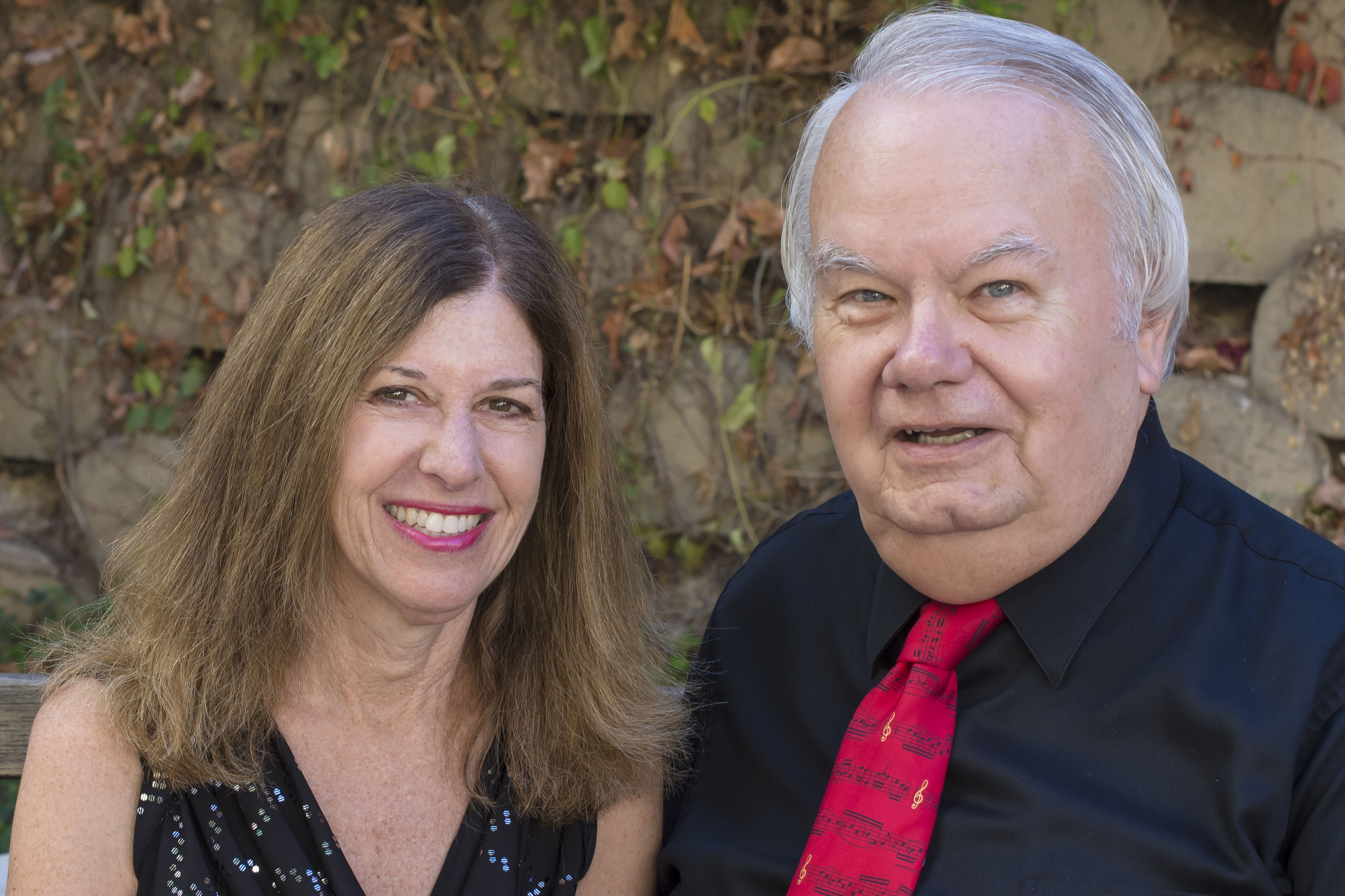 The Festival Singers Pianist Carol Roman and Artistic Director Gary Toops (Photo by Daniel Wilson Photography)